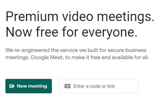 Cara Buat Link Google Meeting