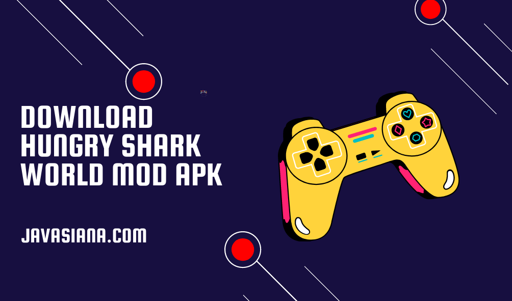 Download Hungry Shark World Mod Apk Unlimited Money