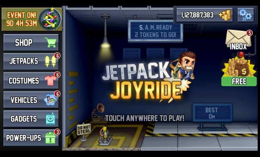 Preview Jetpack Joyride Mod Apk