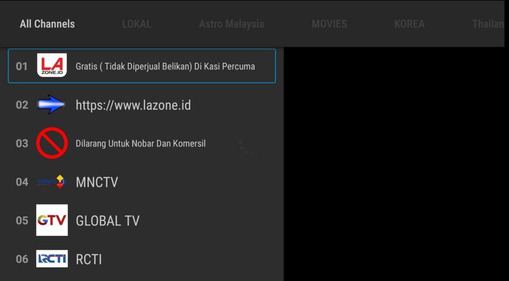 Preview MKCTV Apk