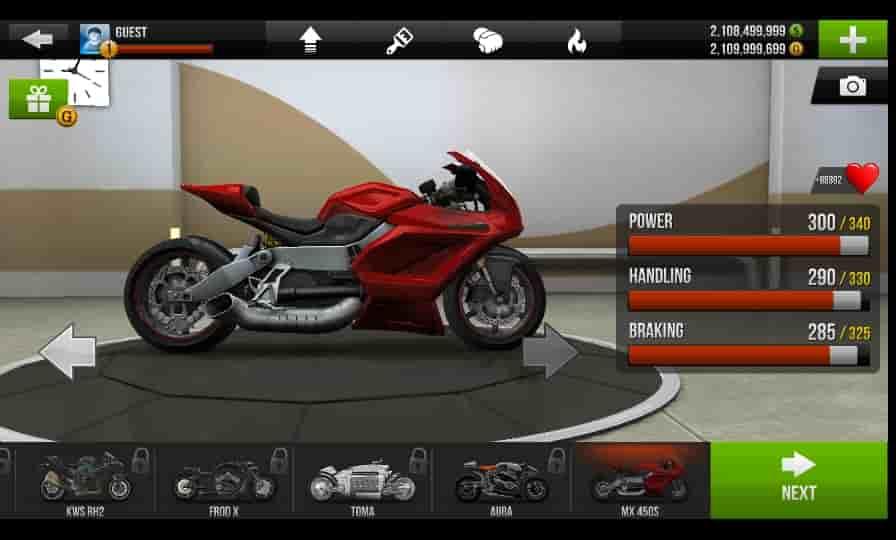 Preview Traffic Rider Mod Apk