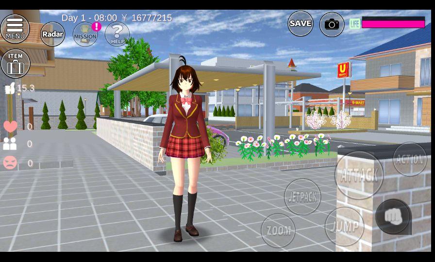 Sakura School Simulator Versi Lama