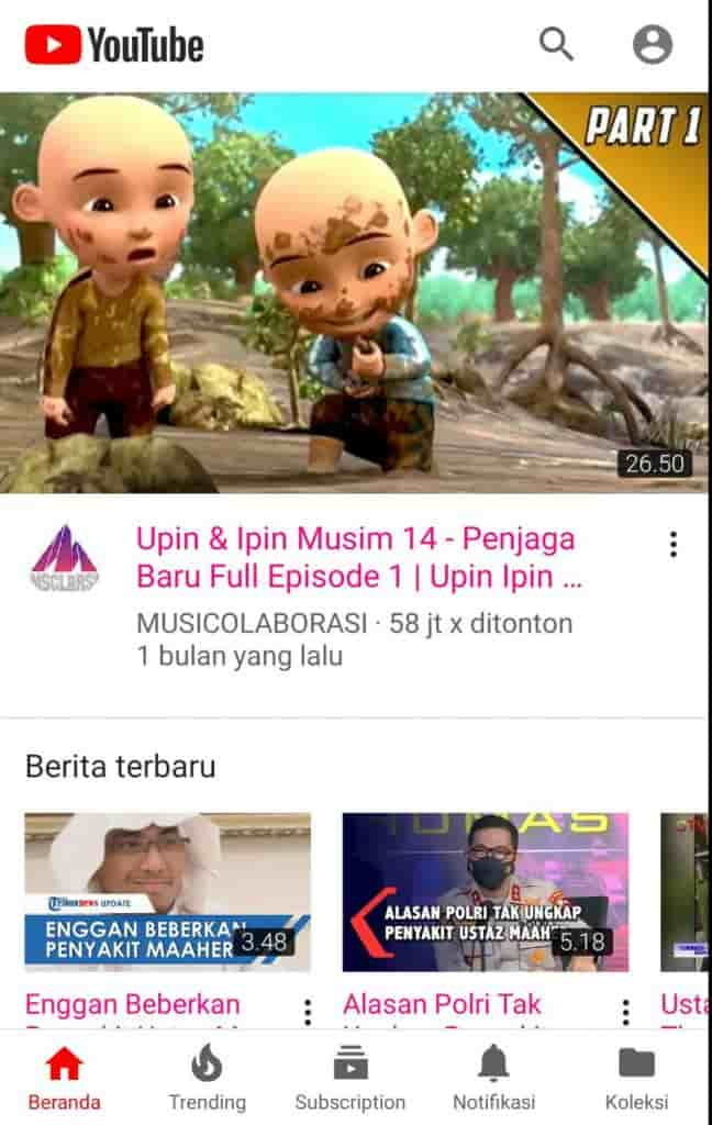 Preview Youtube Pink Apk