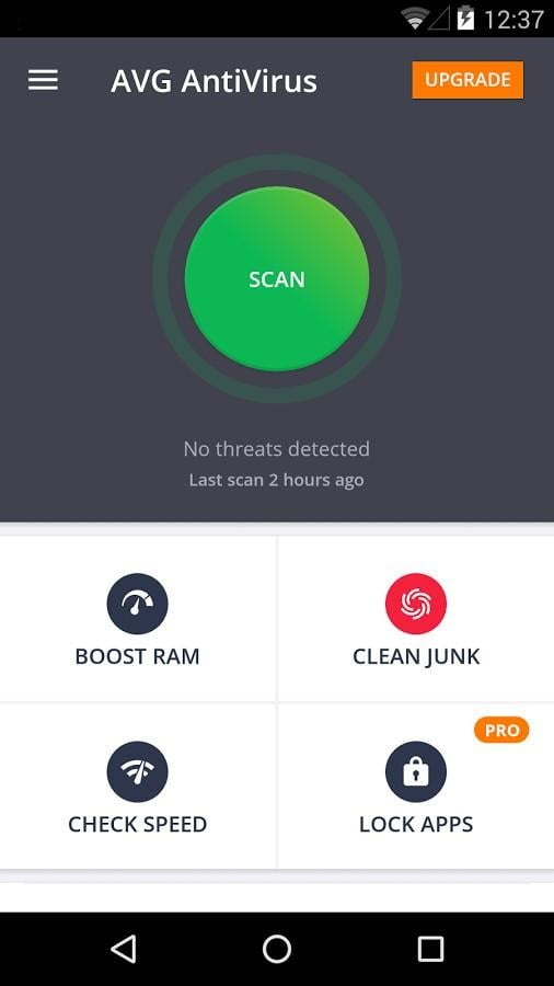 Antivirus Android Terbaik 2021 AVG Antivirus