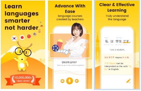 Aplikasi Belajar Bahasa Jepang LingoDeer