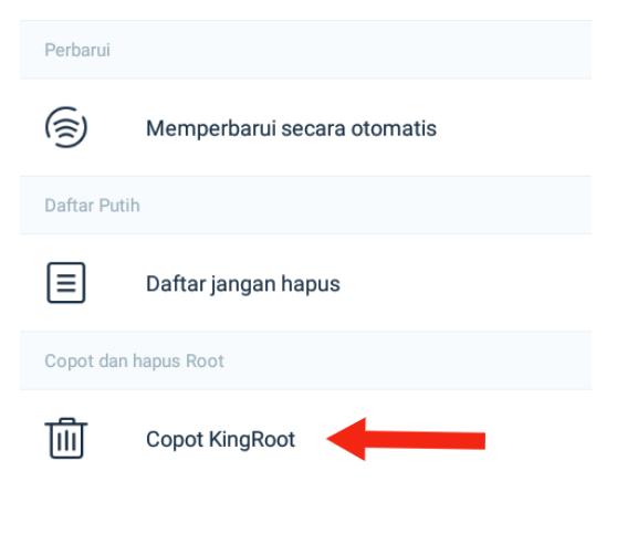 Cara Unroot Hp dengan KingRoot