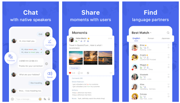 HelloTalk - Chat, Speak & Learn Languages for Free-min