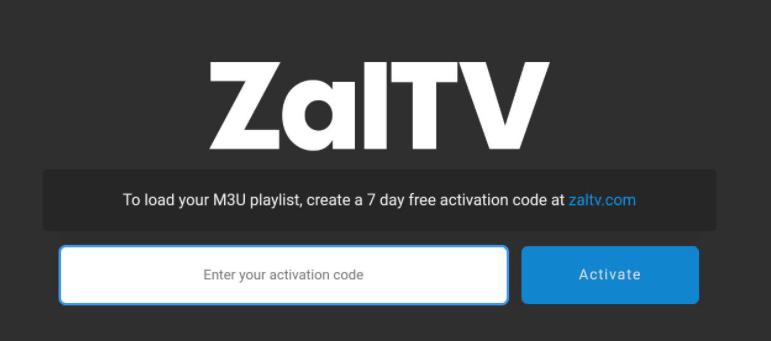Kode Aktivasi ZalTV Terbaru
