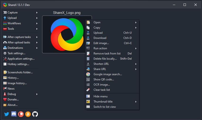 ShareX Aplikasi Perekam Layar PC Tanpa Watermark