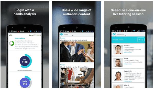 Voxy Aplikasi Belajar Bahasa Ingris Gratis