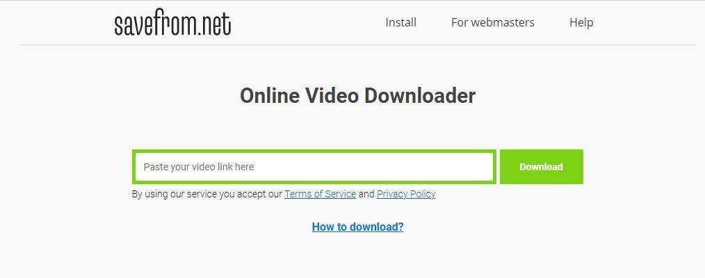 Cara Download Video di Youtube Menggunakan Situs Saveform