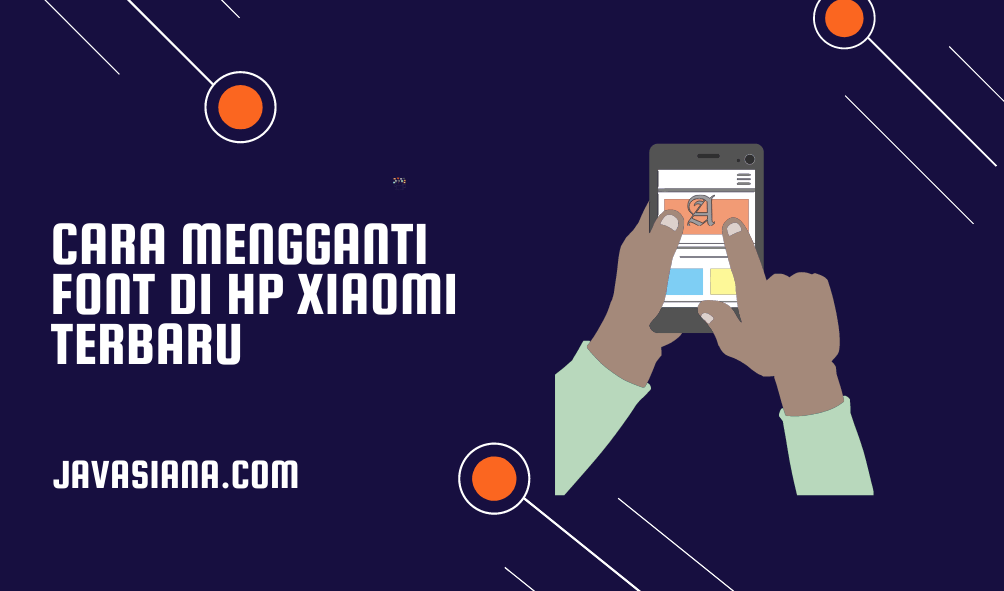Cara Ganti Font Xiaomi