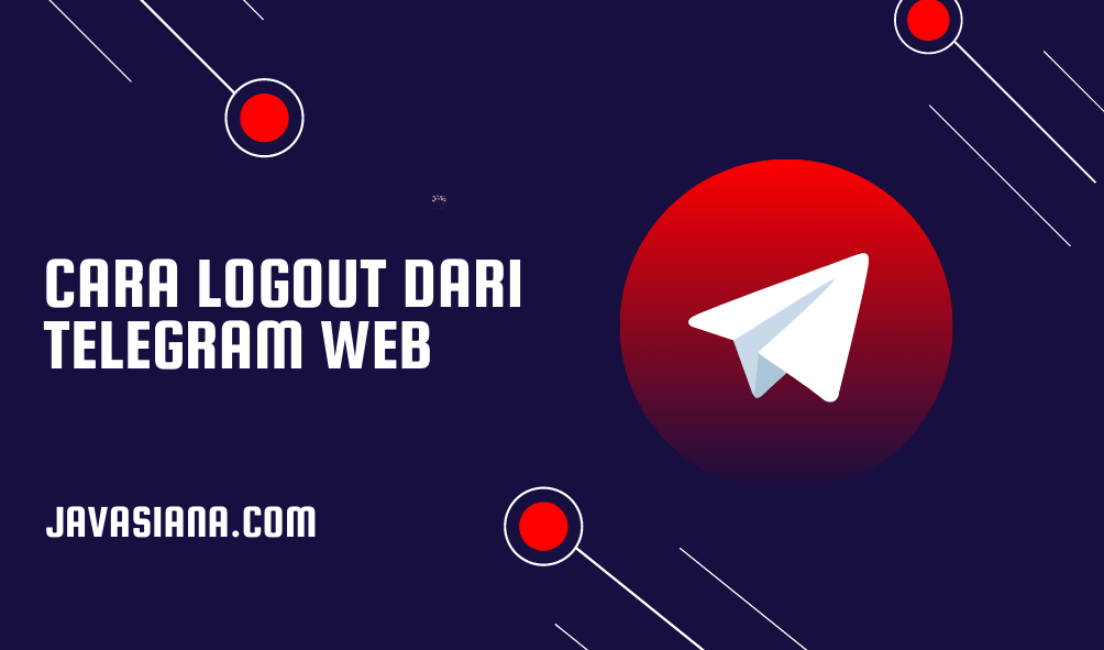 Cara Logout Telegram Web