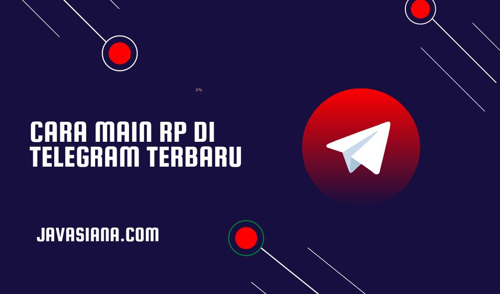 Cara Main RP di Telegram