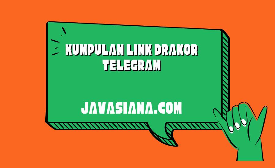 Link Drakor Telegram