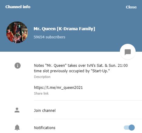 Mr.Queen (K-Drama Family)
