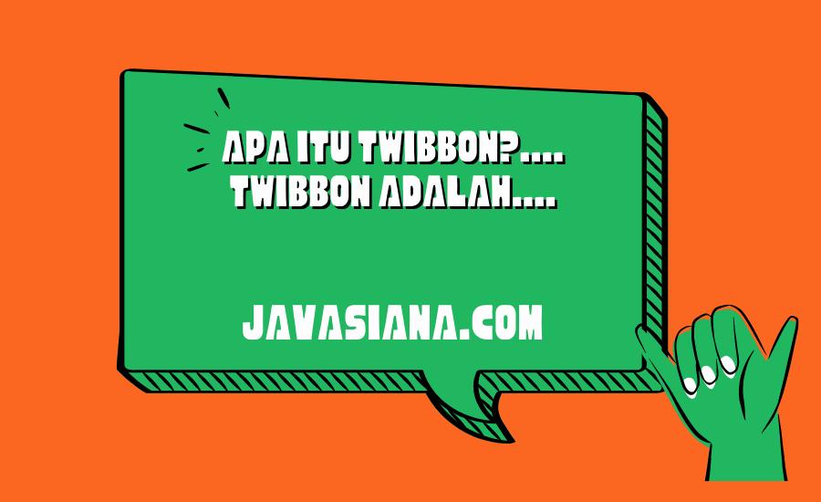 Pengertian Twibbon