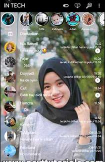 Tema Whatsapp Aero