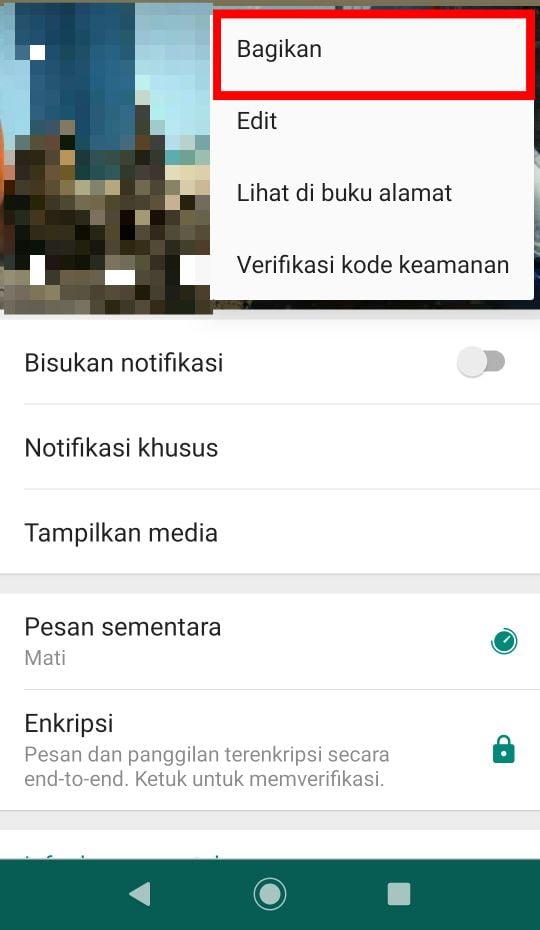 Cara PM di Whatsapp