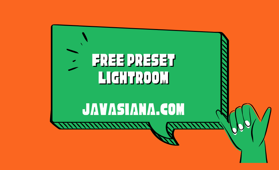 Free Preset Lightroom