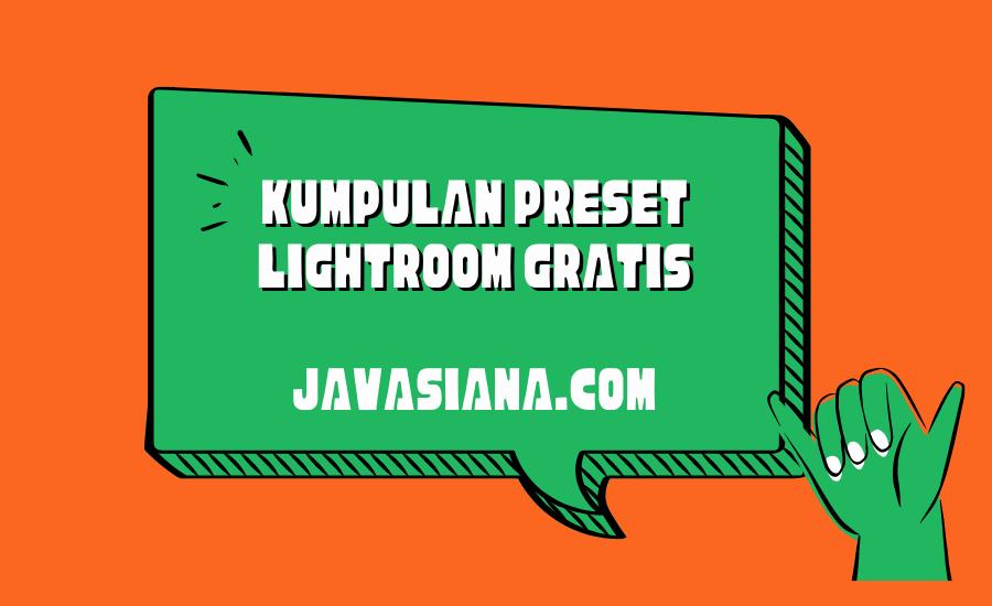 Preset Lightroom Gratis