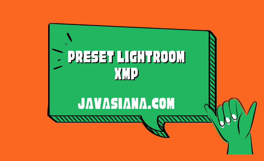 Preset Lightroom XMP