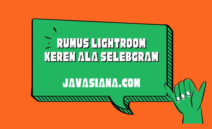Rumus Lightroom