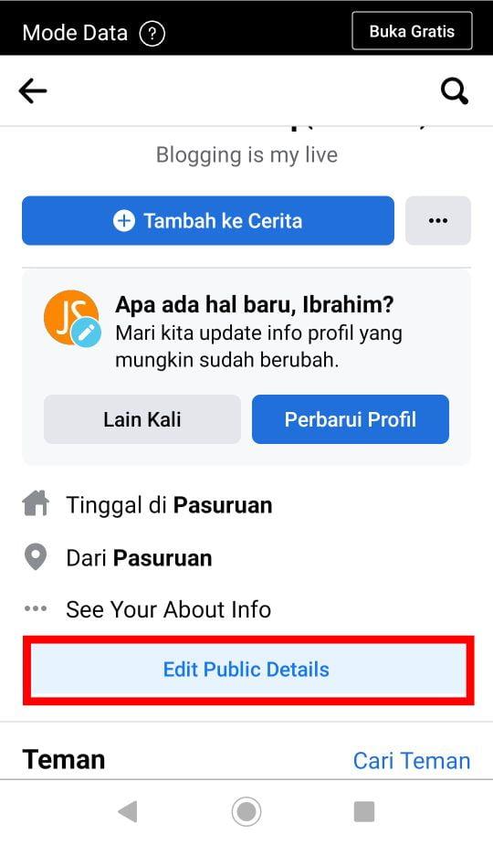 Cara Memasang Link Whatsapp di Facebook