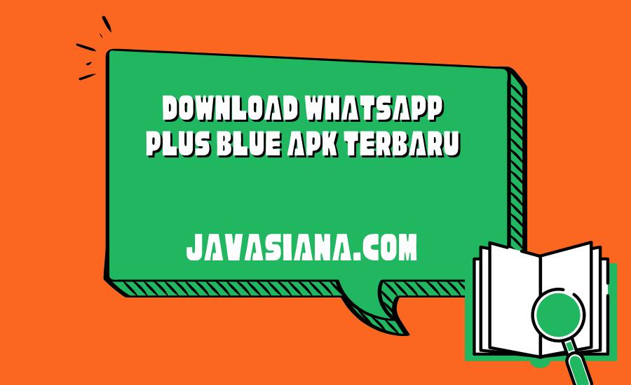 Whatsapp Plus Blue
