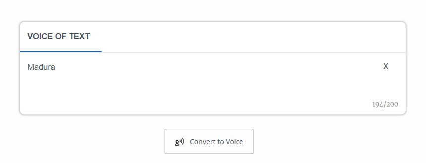 Suara Google: Sound of Text Madura