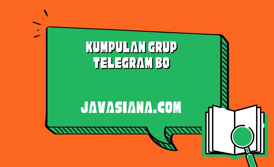 Grup Telegram BO