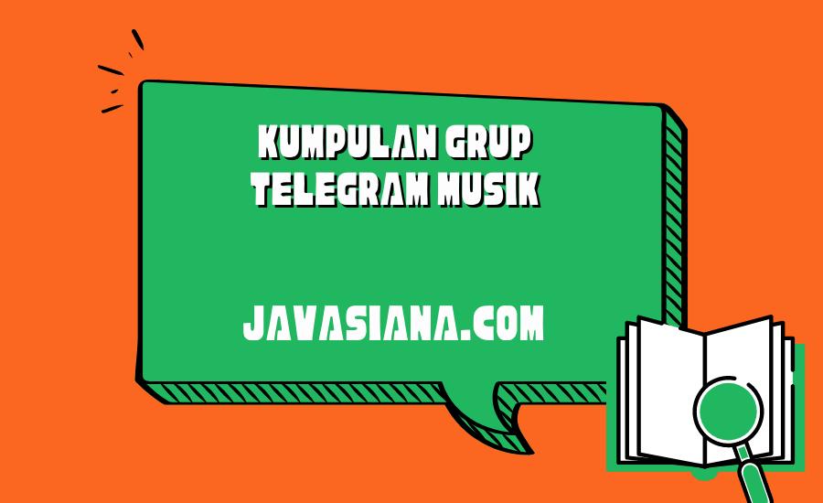 Grup Telegram Musik