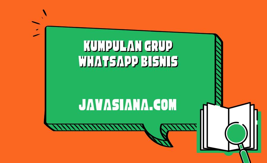 Grup Whatsapp Bisnis