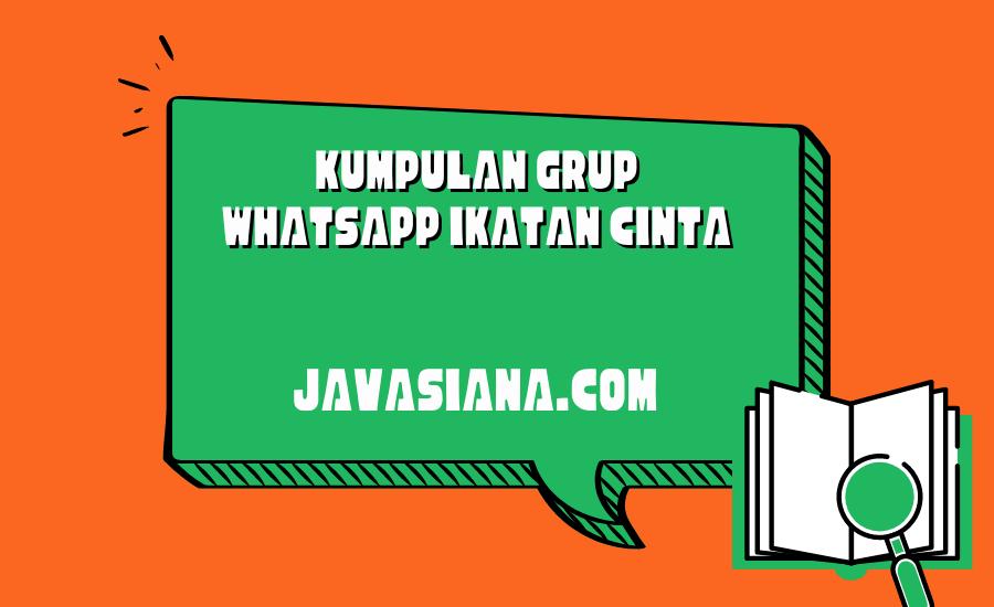 Grup Whatsapp Ikatan Cinta
