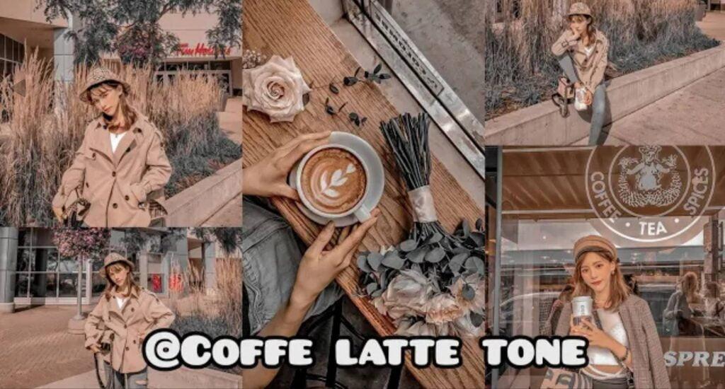 Rumus Lightroom Coffee Latte