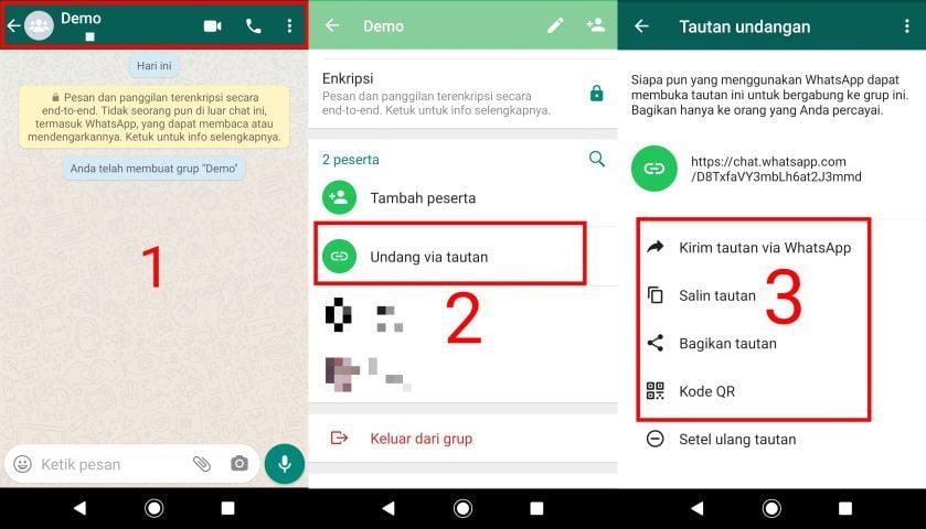 Cara Membagikan Link Grup Whatsapp