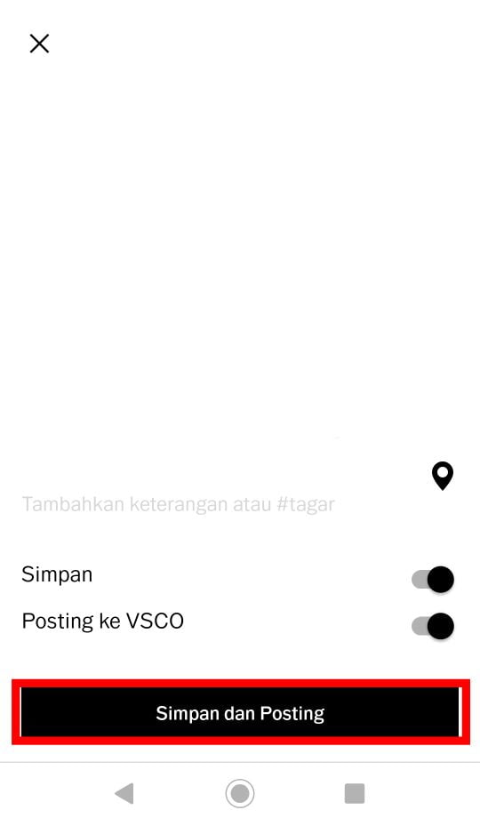 Cara Mengedit Foto di VSCO