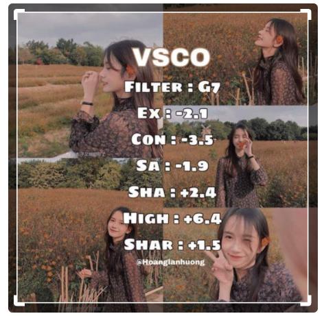 Rumus VSCO Pemandangan Alam