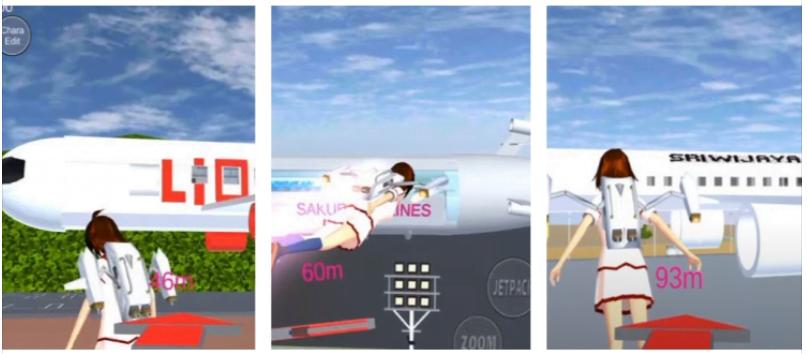 Kumpulan ID Sakura School Simulator Bandara Pesawat