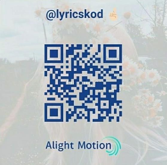 Kode QR Alight Motion
