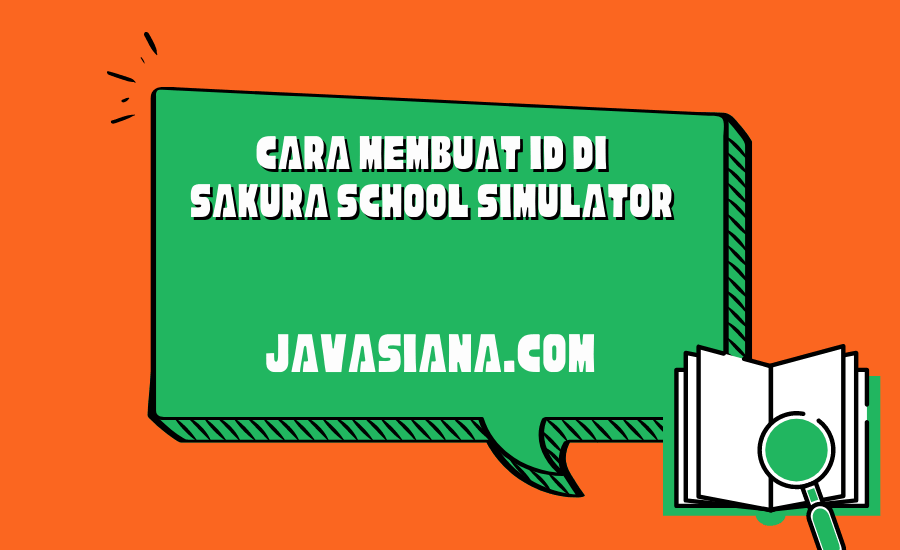 Cara Membuat ID di Sakura School Simulator