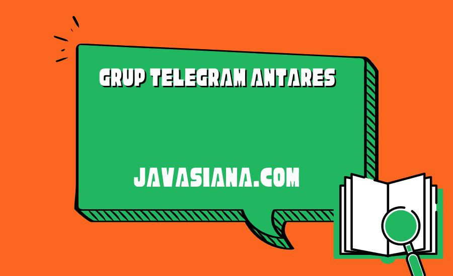 Grup Telegram Antares