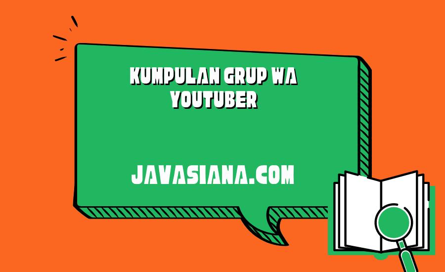 Grup WA Youtuber