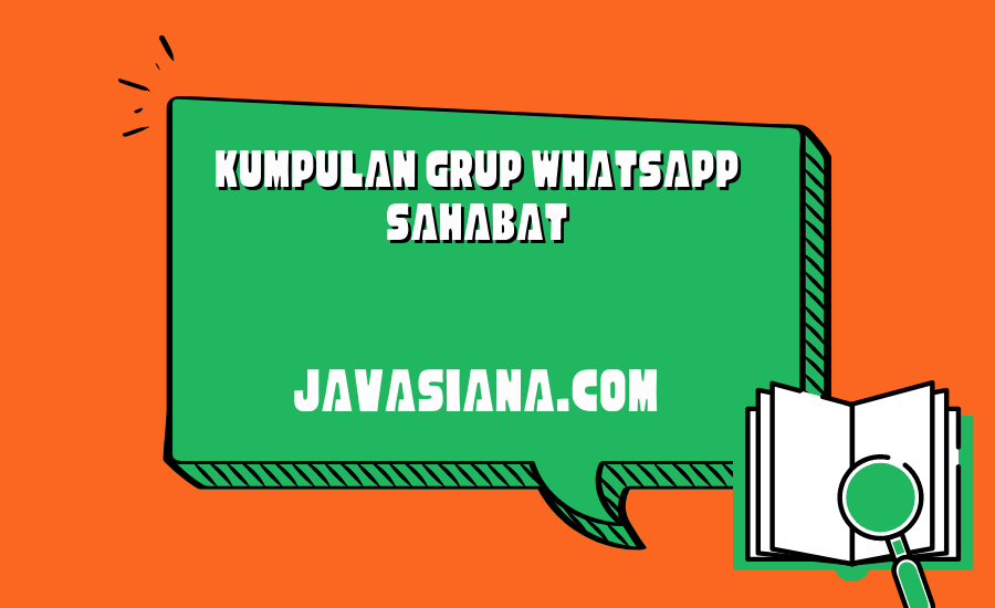 Grup Whatsapp Sahabat