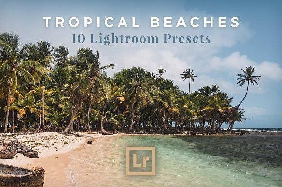 Preset Lightroom Pantai Tropis XMP