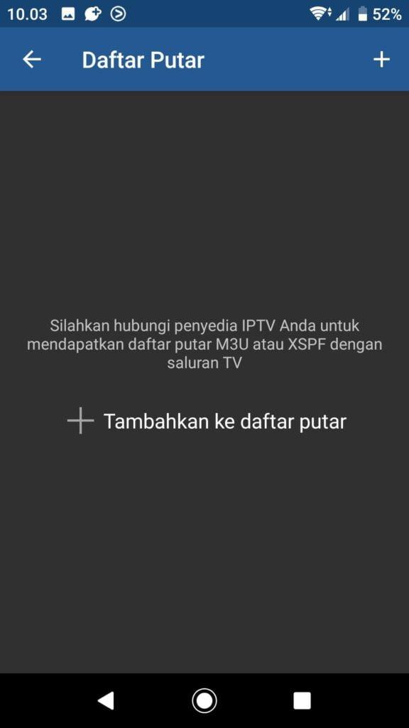 Cara Setting Aplikasi IPTV