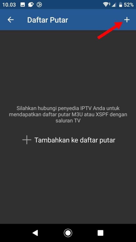 Setting IPTV