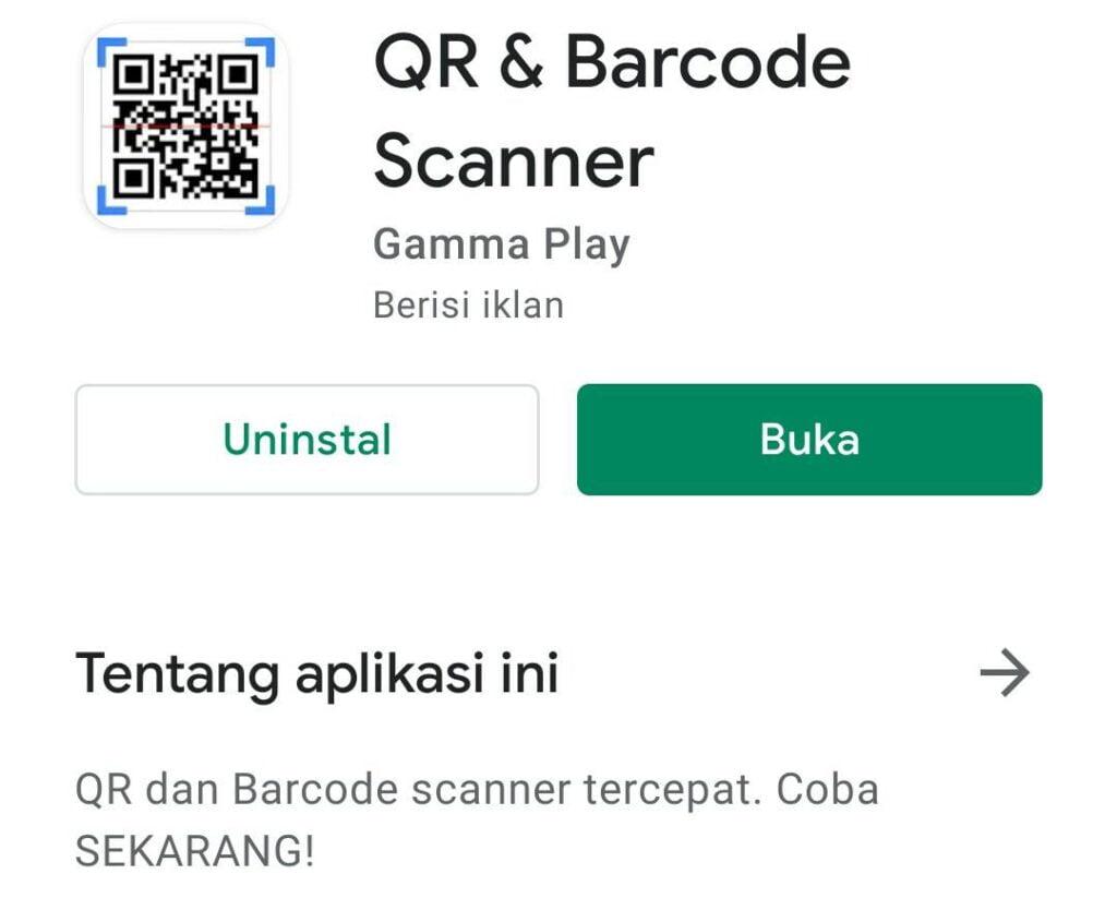 Cara Scan QR Code di HP Sendiri