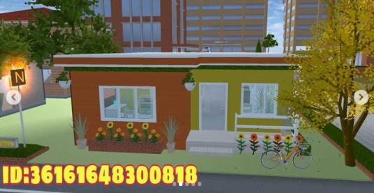ID Props Sakura School Simulator Kafe Toko dan Swalayan