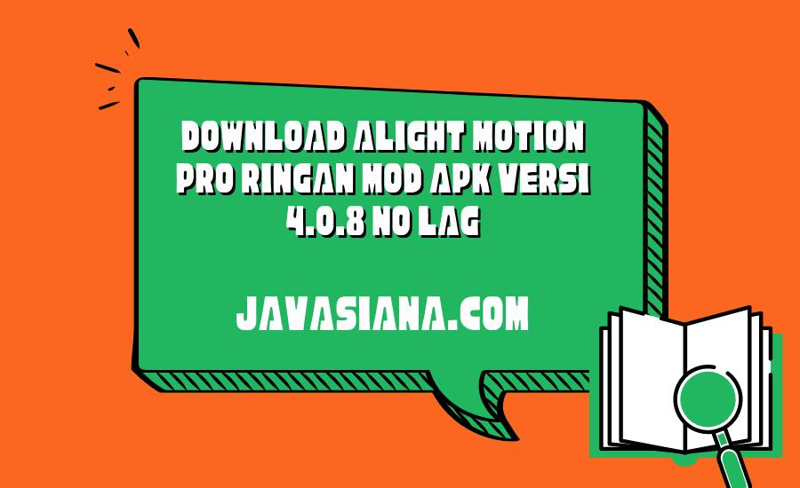 Alight Motion Pro Ringan